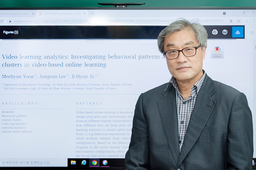 Professor Jo Il-hyun's Research Team Publishes a Paper on Behavioral Patterns of Video-Based Online Learners in a World- 대표이미지