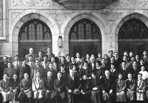 Gains new ground with accreditation as Korea's first university 1946-1961