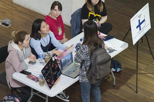 2017 Spring study abroad fair