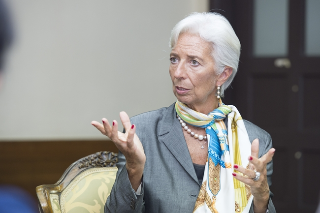 Christine LAGARDE, Visited Ewha