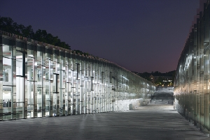 The Nightscape of Ewha Campus