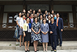 Cherie Blair, an honorary president of AUW, held a Discussion Session with Ewha 대표이미지