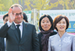 French President Hollande Visits Ewha 대표이미지