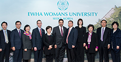 Cornell Law School Visits Ewha Womans University for the Development of Meridian 180 and Greater Exchanges  대표이미지
