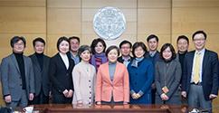 이화 연구역량 강화를 위한 '교내 연구기관 평가 및 지원금 지원 우수 연구기관 총장 간담회' 개최 대표이미지