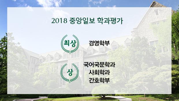 2018중앙일보학과평가