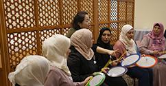 음악치료학과, 2019년 아랍에미리트 음악치료 전문가 연수 실시 대표이미지