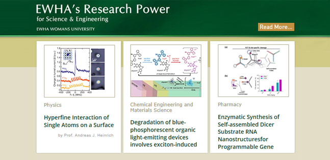 Ewha_Research Power for Science&Engineering