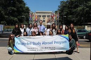 2015 Faculty-led Study Abroad Program