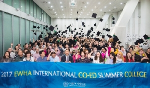 Ewha Int'l Co-ed Summer College Holds Its Matriculation Ceremony