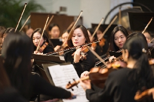 The 'Ewha Orchestra' held a performance