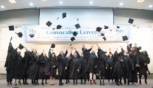 2017 Ewha-KOICA Master's Program Convocation Ceremony