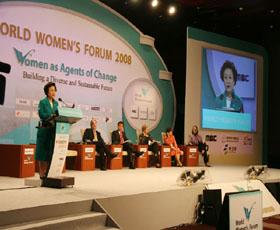 2008 World Women's Forum (2008.10.22)